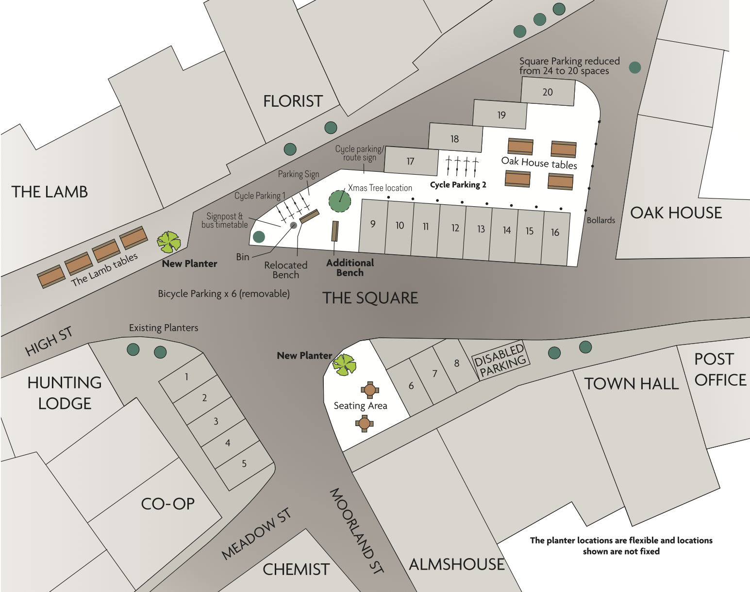map of square